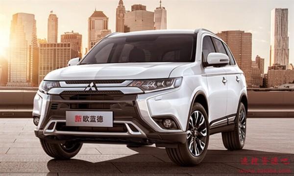 16万买就能买日系合资7座SUV?三菱新款欧蓝德5月上市