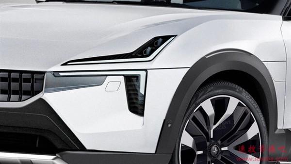 特斯拉劲敌!极星全新车型亮相:沃尔沃XC90同平台打造