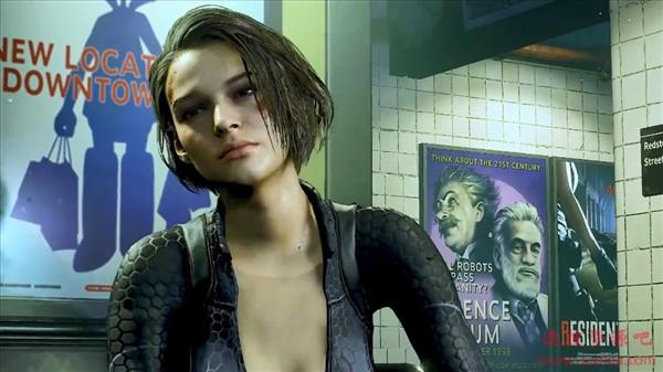 《生化危机3:重制版》加强MOD:还原吉尔紧致好身材