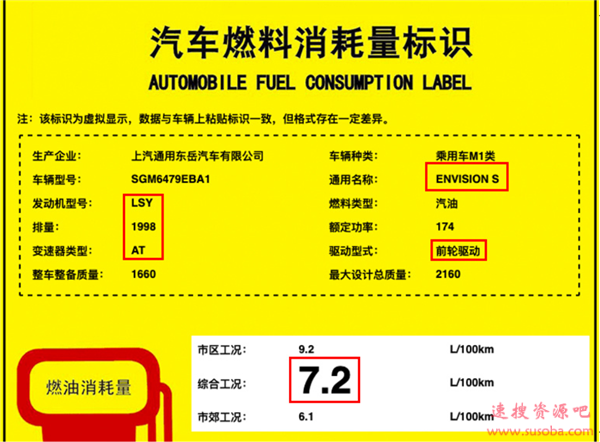 """别克新全新SUV定名昂科威S:凯迪拉克XT4""""换壳"""" 油耗更低"""