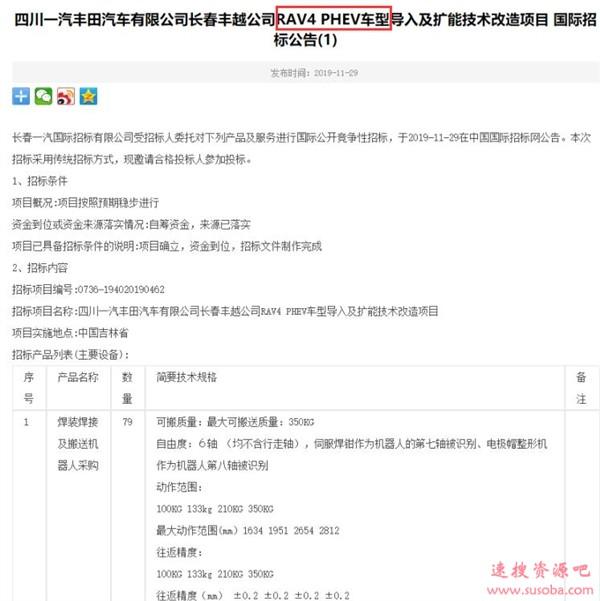 全球销量破千万!有史以来最强大的丰田RAV4即将引入中国