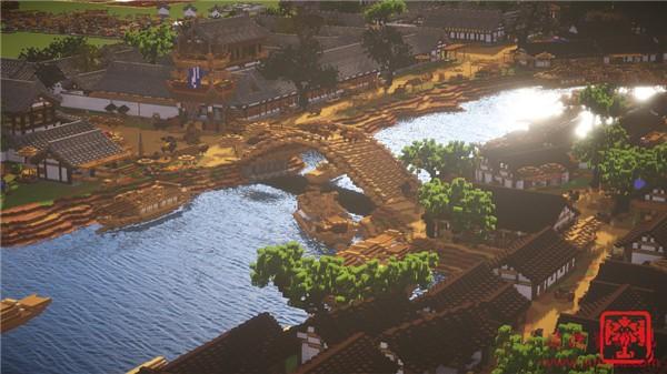 《清明上河图》被《我的世界》神还原 画面令人叹为观止