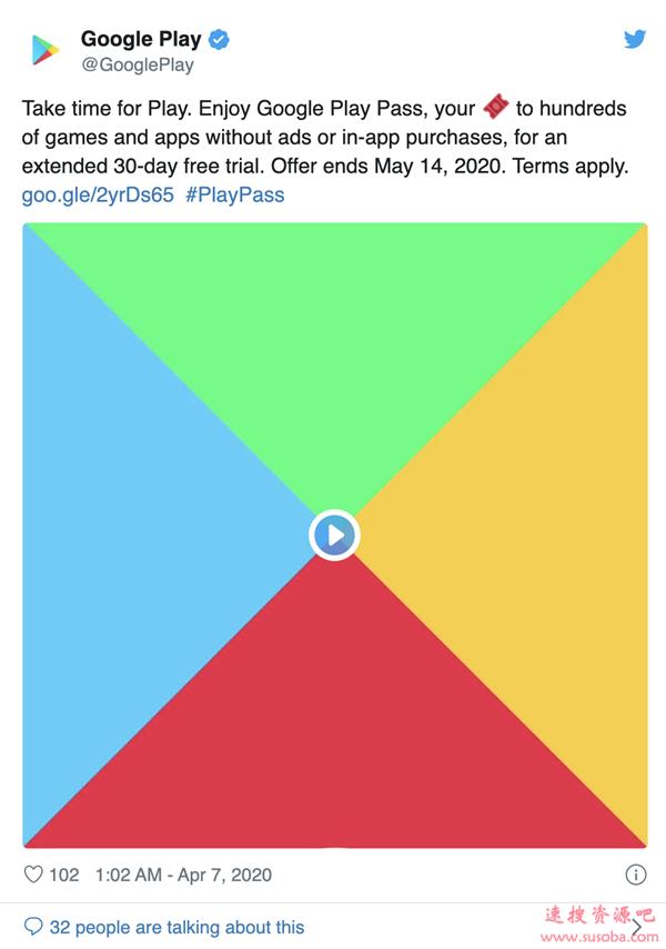 谷歌放出玩家大福利:Android精品游戏全免费!畅玩30天