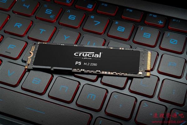 原厂颗粒!英睿达发布P5高性能M.2 SSD:3.4GB/s、最大2TB