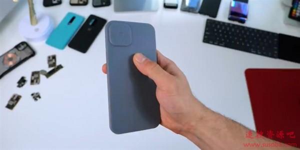 """iPhone 12设计图曝光: 边框更窄 """"浴霸""""更大"""