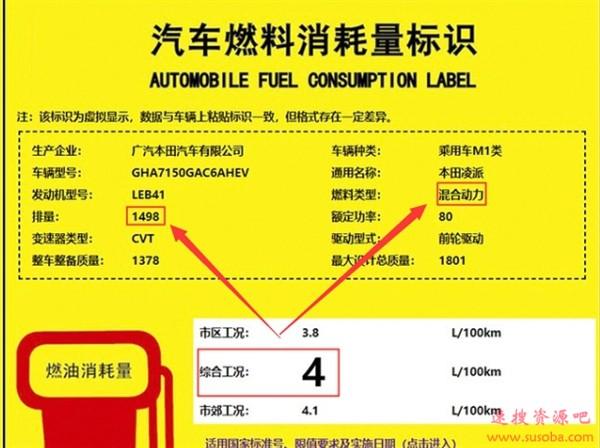 首搭载1.5L混动!新款本田凌派到店:油耗降至4.0L