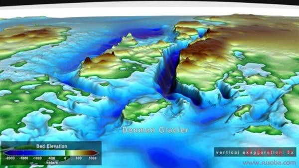 都是人类作的:巨大的南极冰川正自下而上融化