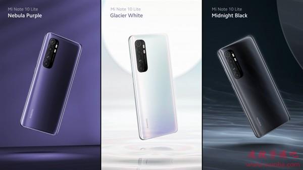 小米Note 10 Lite手机海外发布:骁龙730G、6+128GB售价3000