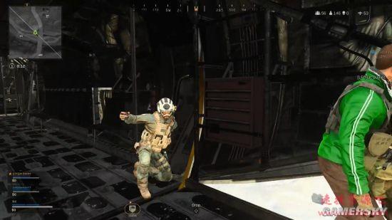 《使命召唤:战区》玩家遭遇BUG 能看到飞机内部场景