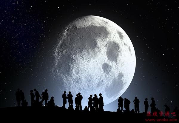 月球起源又有新挑战 新研究发现其表面仍在释放碳