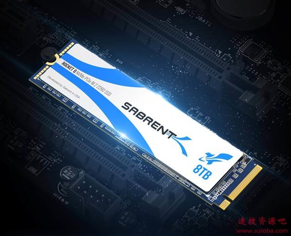 全球首款8TB M.2 SSD诞生!仅支持PCIe 3.1