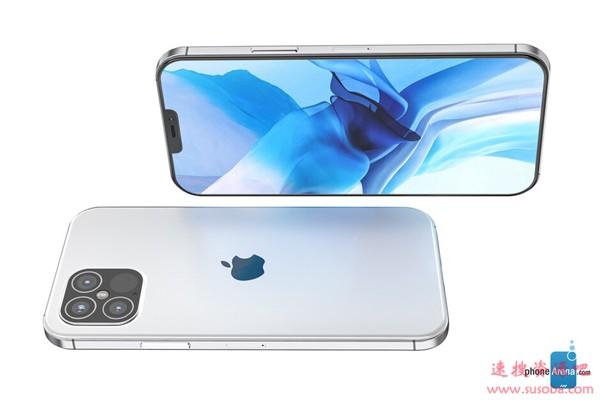 四款你中意谁?iPhone 12系列高清渲染图:4500元起