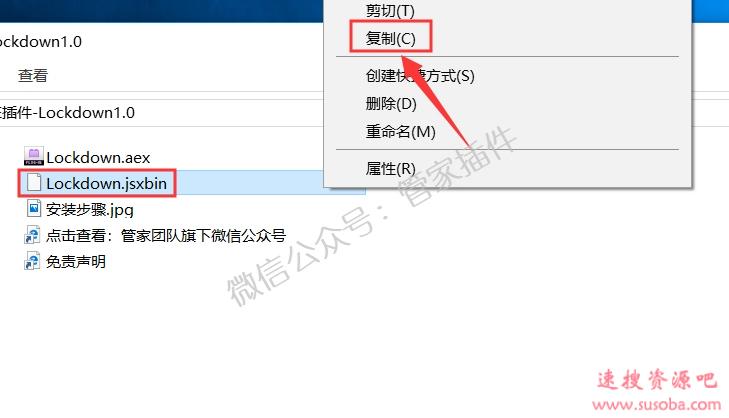 AE插件『Lockdown1.0』下载和安装教程