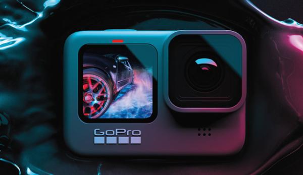 3498元!GoPro Hero9 Black正式发布:前后双彩屏 5K高清