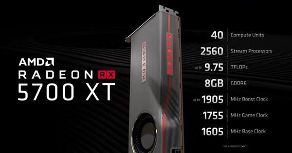 【速搜资讯】A卡战未来 RX 5700显卡一年来性能免费提升10%