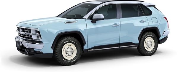 【速搜资讯】复制粘贴丰田!这车抄RAV4秒变90年代美式SUV风格