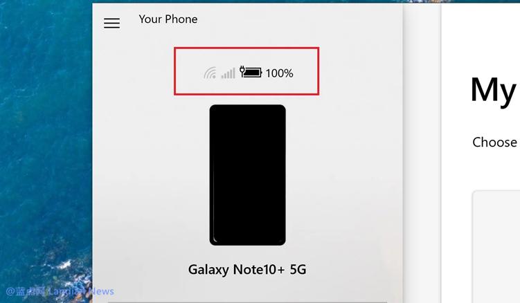 【速搜资讯】微软继续更新「你的手机」应用 提供安卓机WiFi信号强度和电量指示功能