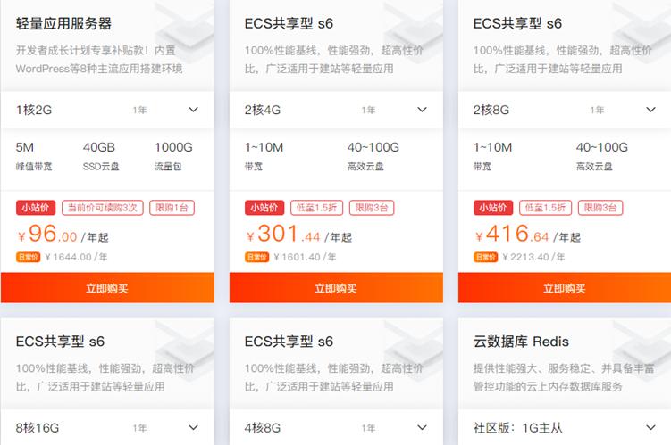 【速搜资讯】阿里云新年特别活动1核2GB服务器低至96元限时抢购 5M带宽1TB流量