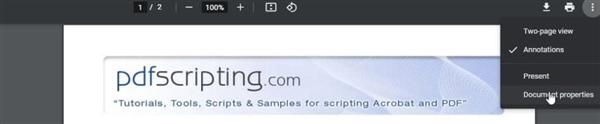 【速搜资讯】Chrome 88新功能曝光:查看PDF文档属性