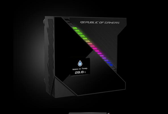 【速搜资讯】ROG龙神2 240水冷宣布:自带3.5寸屏幕 堪比iPhone 4