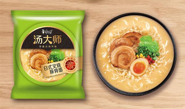 【速搜资讯】康师傅整箱豚骨方便面立减30元:14袋仅39.9元 鲜美浓汤