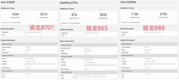 【速搜资讯】骁龙870来了?性能介于骁龙865和888之间:vivo或将首发
