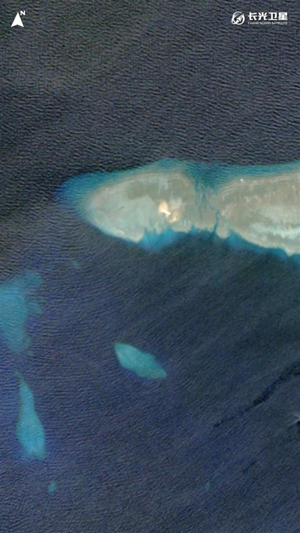 【速搜资讯】太空看中国南沙群岛第一大良港:天赐大礼