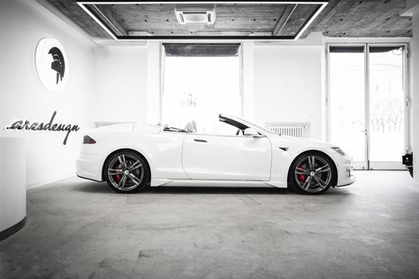 【速搜资讯】双门四座超跑既视感!设计公司爆改特斯拉Model S