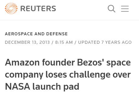【速搜资讯】世界首富辞职之后 要和马斯克在太空干上一仗?