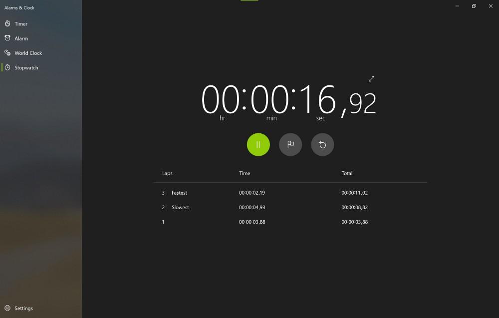 【速搜资讯】微软重新设计的闹钟与时钟应用发布至Windows 10稳定版具有太阳谷UI