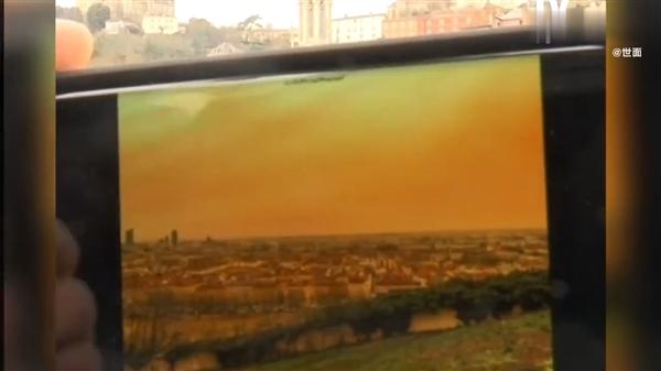 【速搜资讯】沙尘席卷欧洲 多国天空被染橘:这画面令人战栗