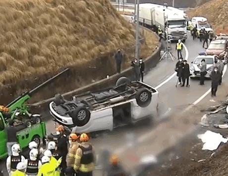 【速搜资讯】韩国一起车祸6名中国公民身亡 警方:未系安全带是主要原因