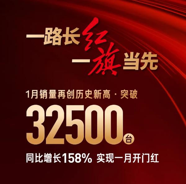 【速搜资讯】连续数月超雷克萨斯/沃尔沃!一汽红旗开年暴涨158%