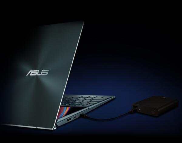 【速搜资讯】华硕发布灵耀X双屏笔记本:副屏优雅抬起7度、顶配1.2万元