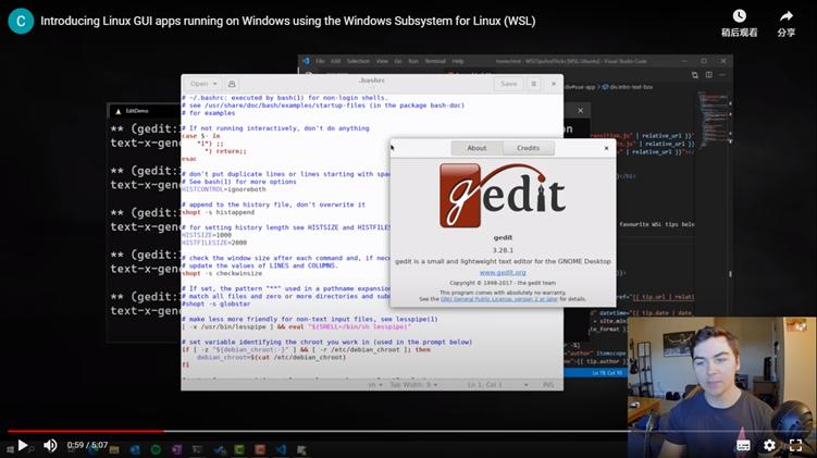 【速搜资讯】现在你可以通过Windows 10 WSL子系统来运行Linux GUI图形程序喽!