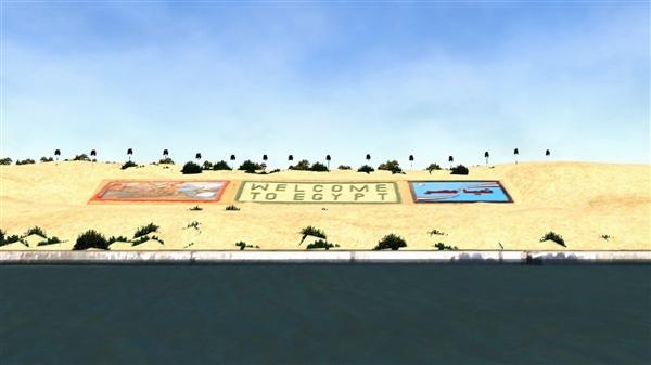 【速搜资讯】《苏伊士运河模拟器》Steam版发售 弄个巨轮堵港口?