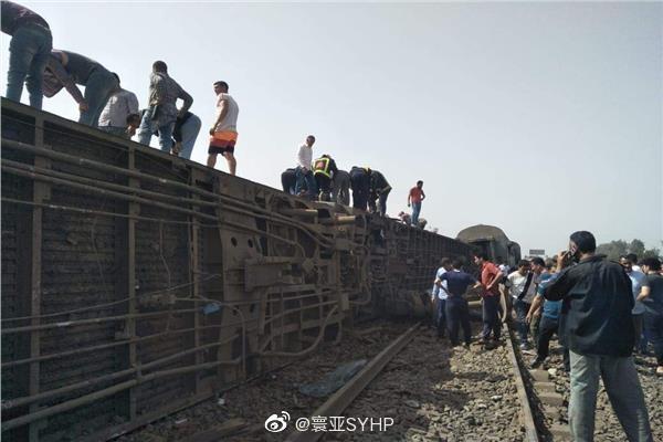 【速搜资讯】突发!埃及火车脱轨:死伤上百人