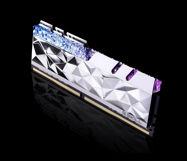 【速搜资讯】内存也爵士:芝奇发布皇家戟尊爵版DDR4 最高频5333MHz
