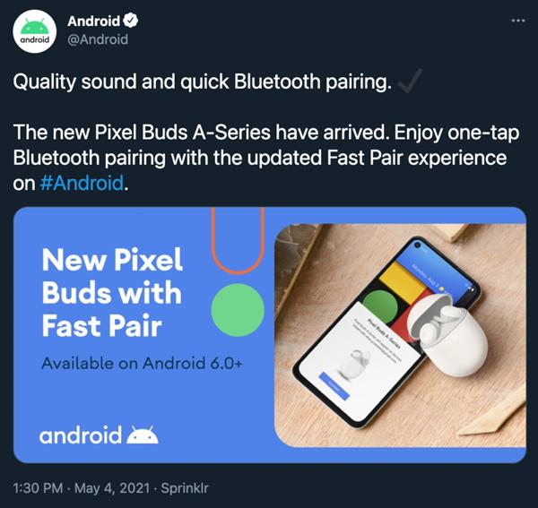 【速搜资讯】谷歌新款真无线耳机泄露 主打高音质