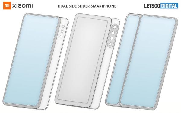 【速搜资讯】小米全新手机专利曝光!采用双侧滑设计:支持左右双向滑动