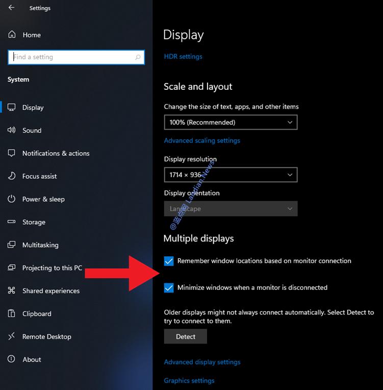 【速搜资讯】微软在Windows 11里改进多显示器体验 避免断开连接时窗口进行堆叠
